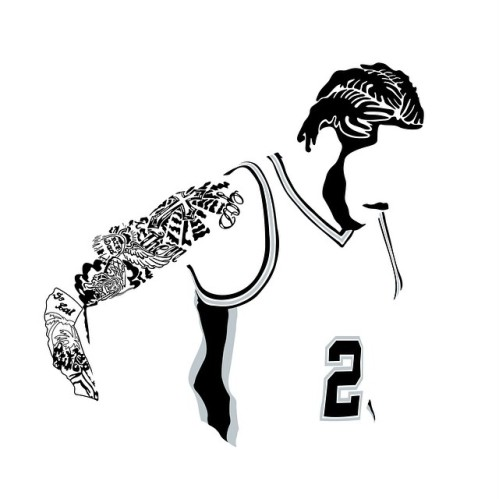 Image result for kawhi leonard drawing